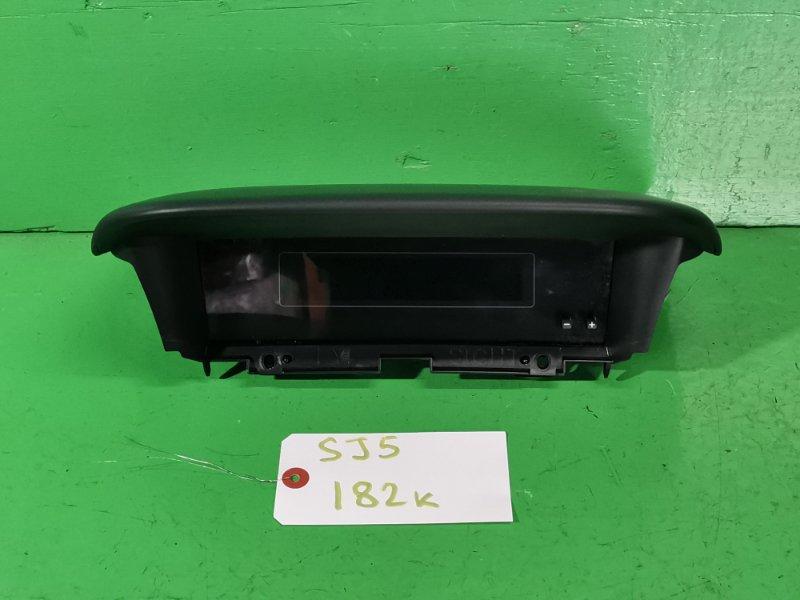 Монитор Subaru Forester SJ5 (б/у)