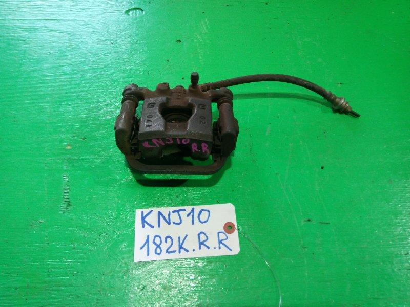 Суппорт Nissan Dualis KNJ10 задний правый (б/у)