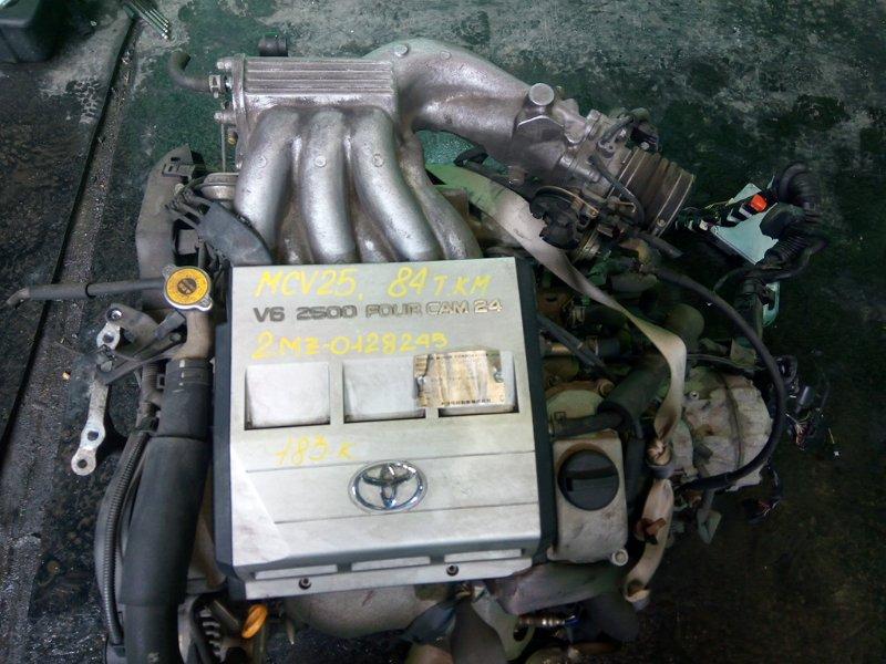 Двигатель Toyota Mark Ii Qualis MCV25 2MZ-FE (б/у)