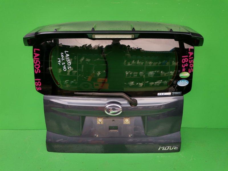 Дверь задняя Daihatsu Move LA150S 2014 (б/у)