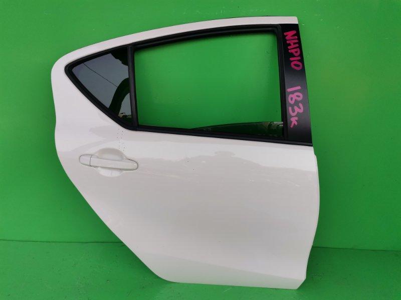 Дверь Toyota Aqua NHP10 2012 задняя правая (б/у)