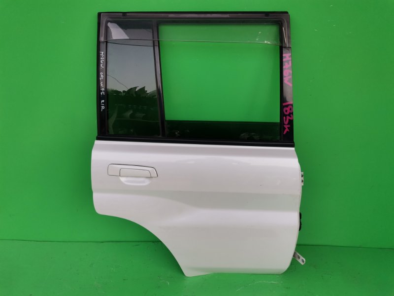Дверь Mitsubishi Pajero Io H76W задняя правая (б/у)