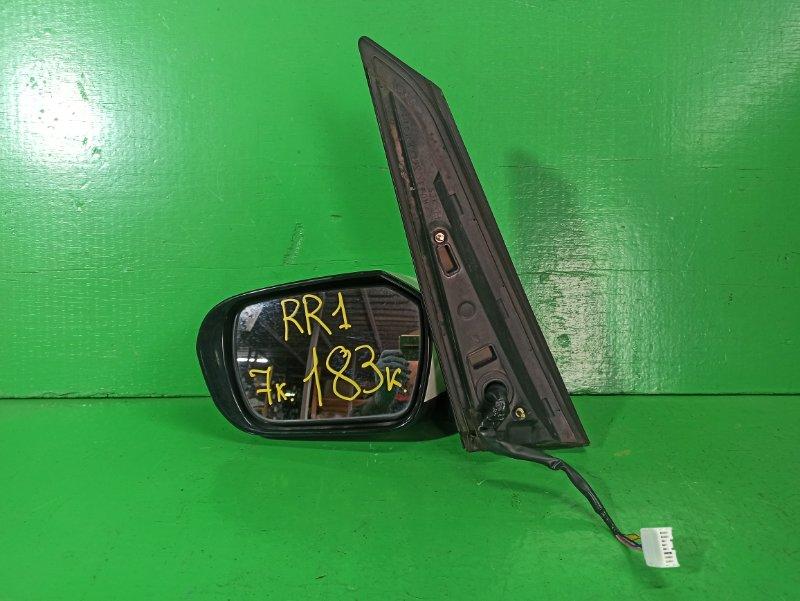 Зеркало Honda Elysion RR1 переднее левое (б/у)