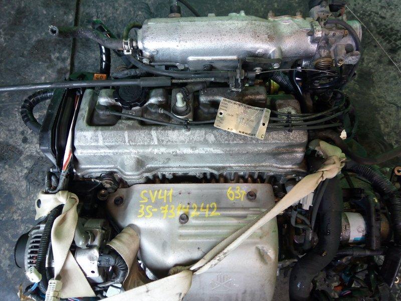 Двигатель Toyota Camry SV41 3S-FE (б/у)