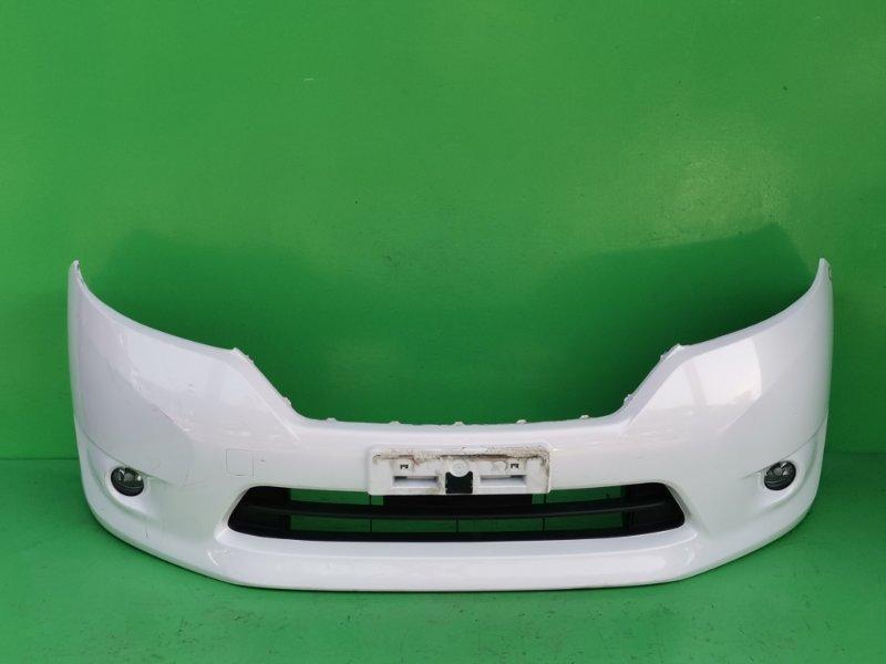 Бампер Nissan Lafesta CWEAWN передний (б/у)