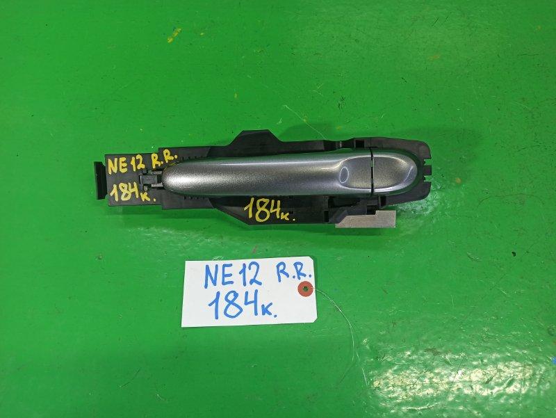 Ручка двери внешняя Nissan Note E12 задняя правая (б/у)