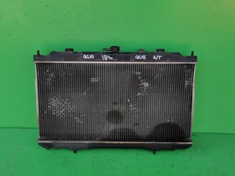 Радиатор основной Nissan Sylphy QG10 QG18-DE (б/у)