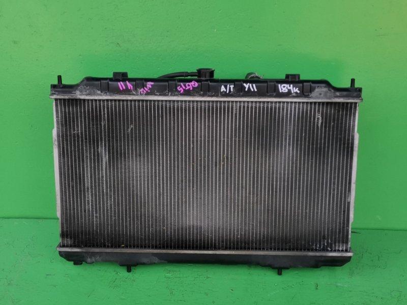 Радиатор основной Nissan Wingroad Y11 QG15-DE (б/у)
