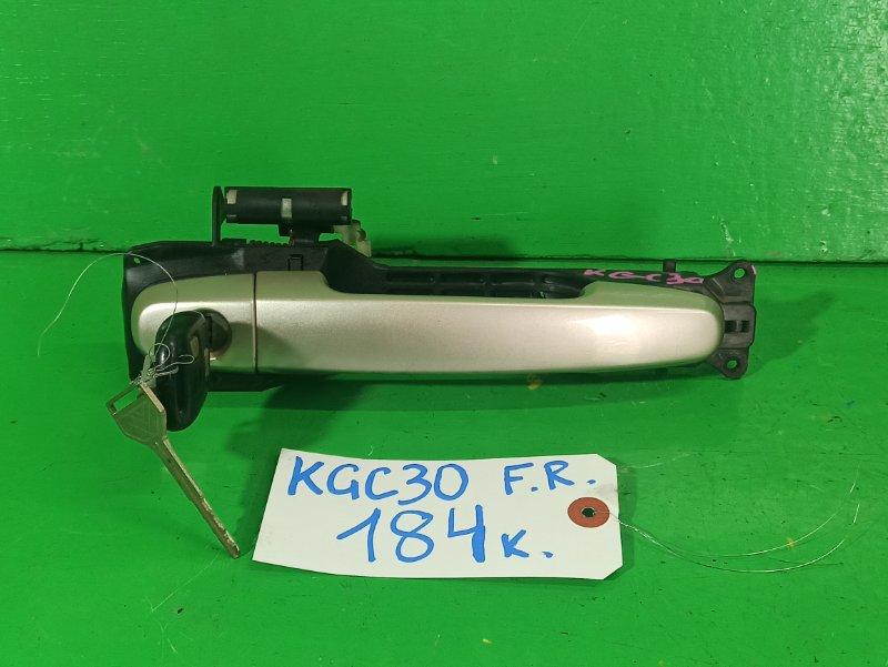 Ручка двери внешняя Toyota Passo KGC30 передняя правая (б/у)