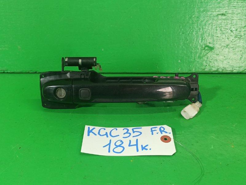 Ручка двери внешняя Toyota Passo KGC35 передняя правая (б/у)