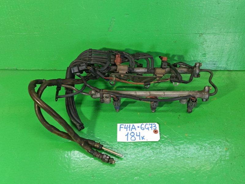 Рейка топливная Mitsubishi Diamante F41A 6G73 (б/у)