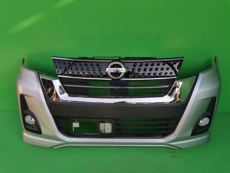 Бампер Nissan Dayz B21A передний (б/у)