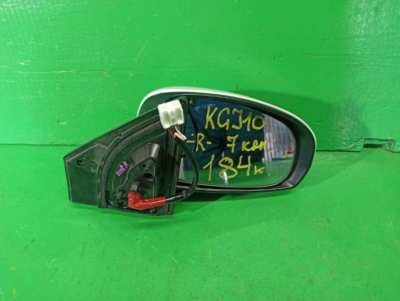 Зеркало Toyota Iq KGJ10 переднее правое (б/у)