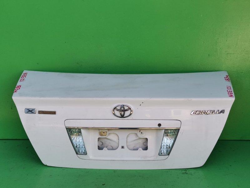 Крышка багажника Toyota Corolla NZE121 (б/у)