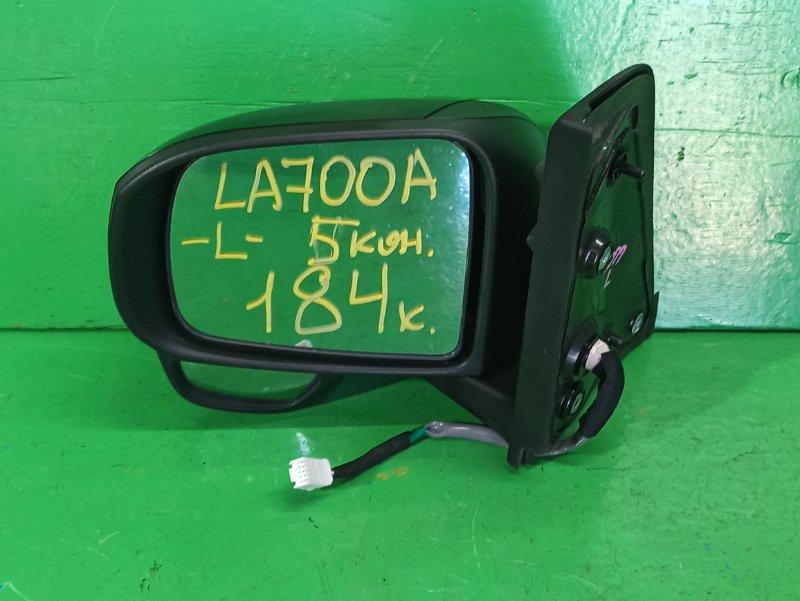 Зеркало Toyota Pixis Mega LA700A переднее левое (б/у)