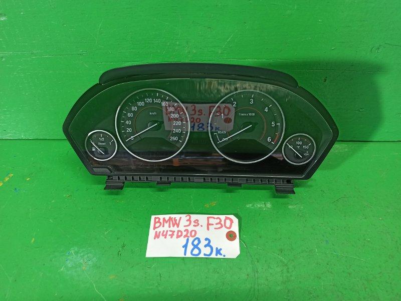 Спидометр Bmw 3-Series F30 N47D20 (б/у)
