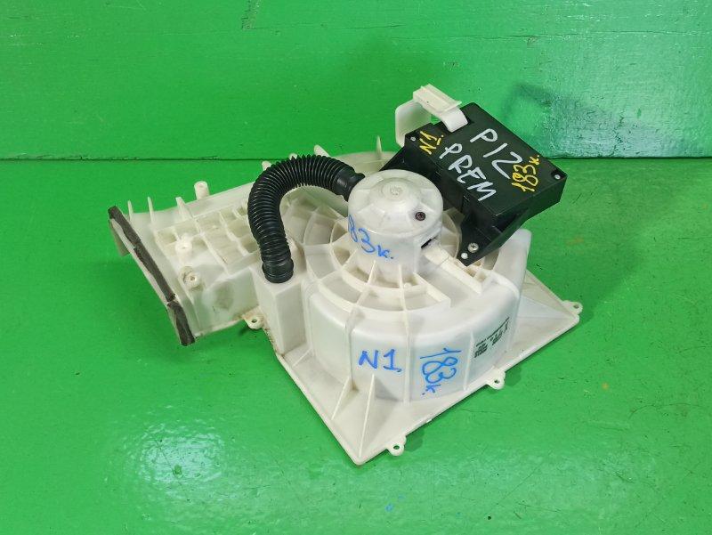 Мотор печки Nissan Primera P12 (б/у) №1