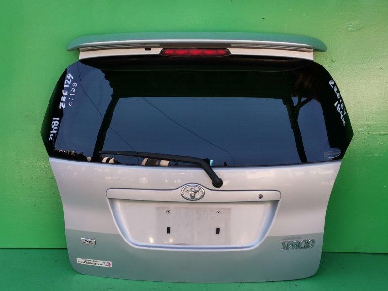 Дверь задняя Toyota Spacio ZZE124 (б/у)