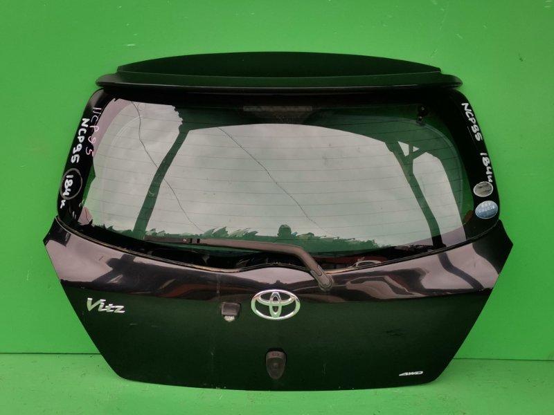 Дверь задняя Toyota Vitz NCP95 (б/у)