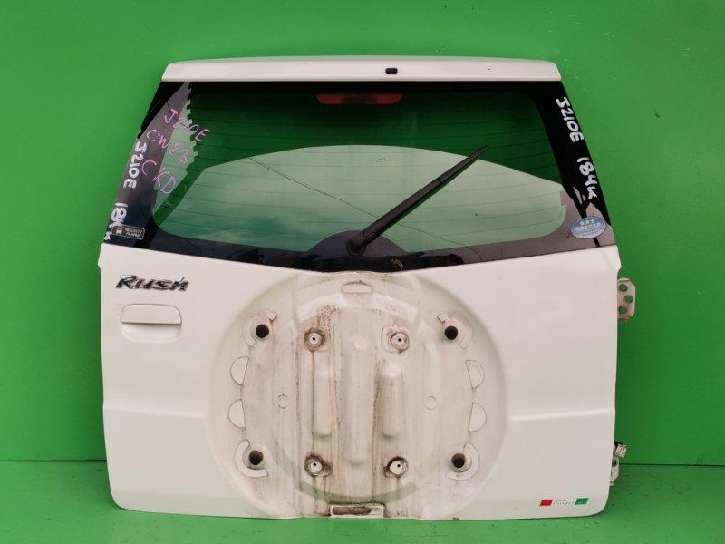 Дверь задняя Toyota Rush J210E (б/у)