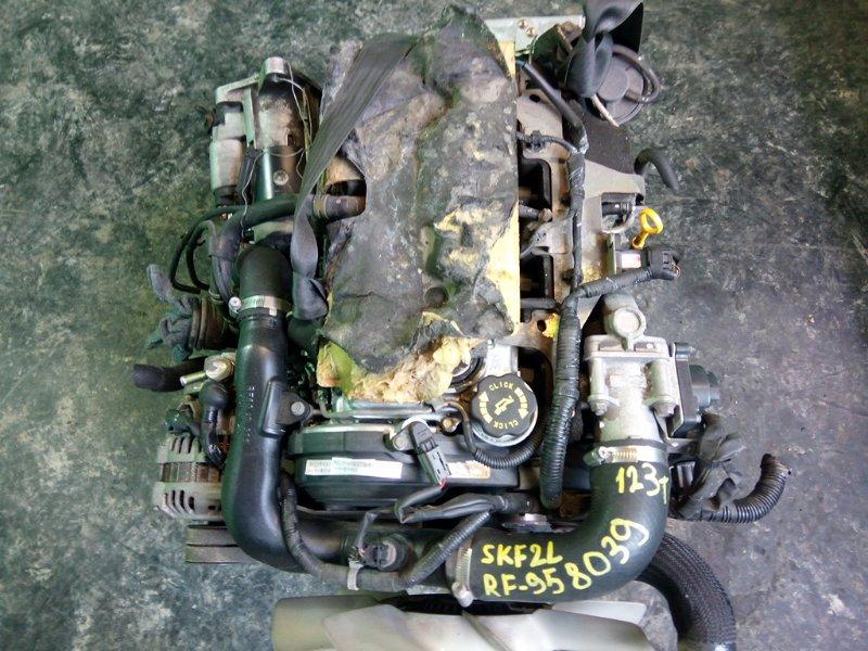 Двигатель Mazda Bongo SKF2L RF-TE (б/у)