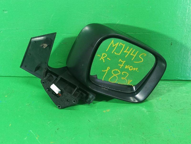 Зеркало Suzuki Wagon R MJ44S переднее правое (б/у)