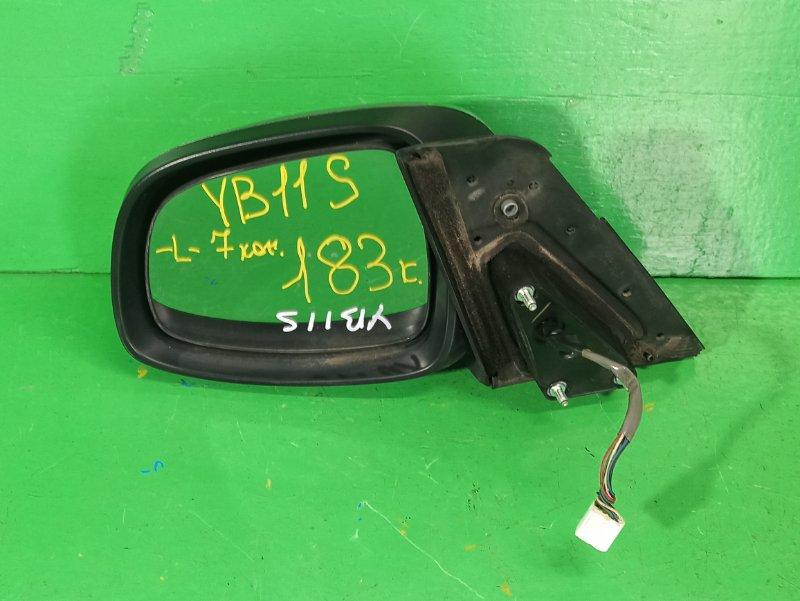 Зеркало Suzuki Sx4 YB11S переднее левое (б/у)