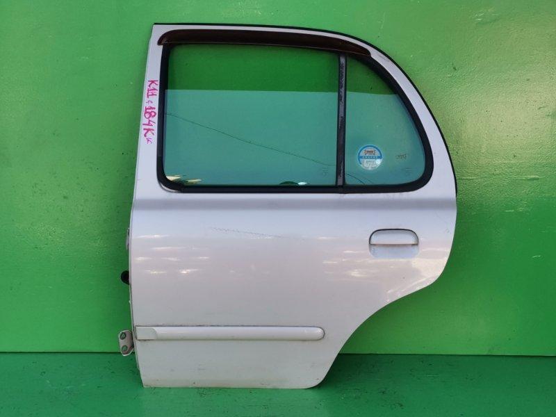 Дверь Nissan March K11 задняя левая (б/у)