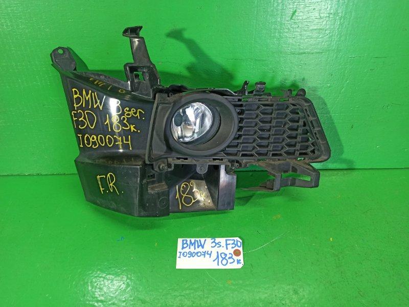 Туманка Bmw 3-Series F30 передняя правая (б/у)