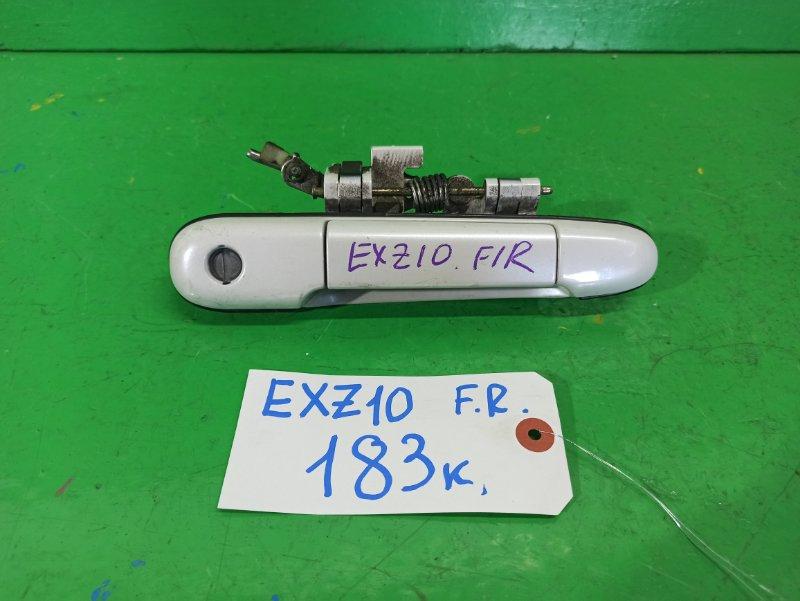 Ручка двери внешняя Toyota Raum EXZ10 передняя правая (б/у)