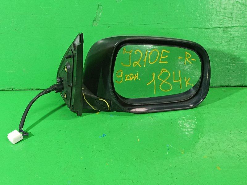 Зеркало Toyota Rush J210E переднее правое (б/у)