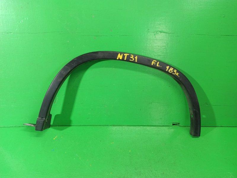 Дефендер Nissan Xtrail NT31 задний левый (б/у)