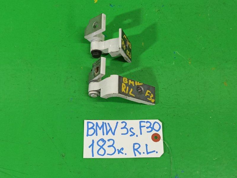 Петля дверная Bmw 3-Series F30 задняя левая (б/у)