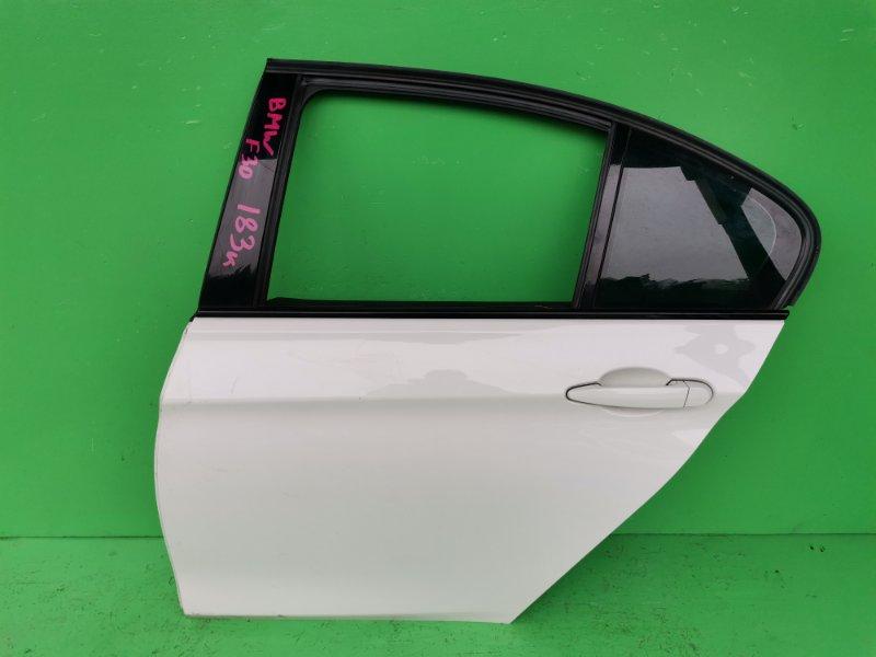 Дверь Bmw 3-Series F30 задняя левая (б/у)