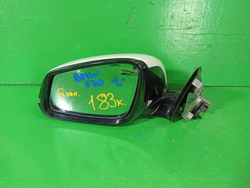 Зеркало Bmw 3-Series F30 N47D20 переднее левое (б/у)