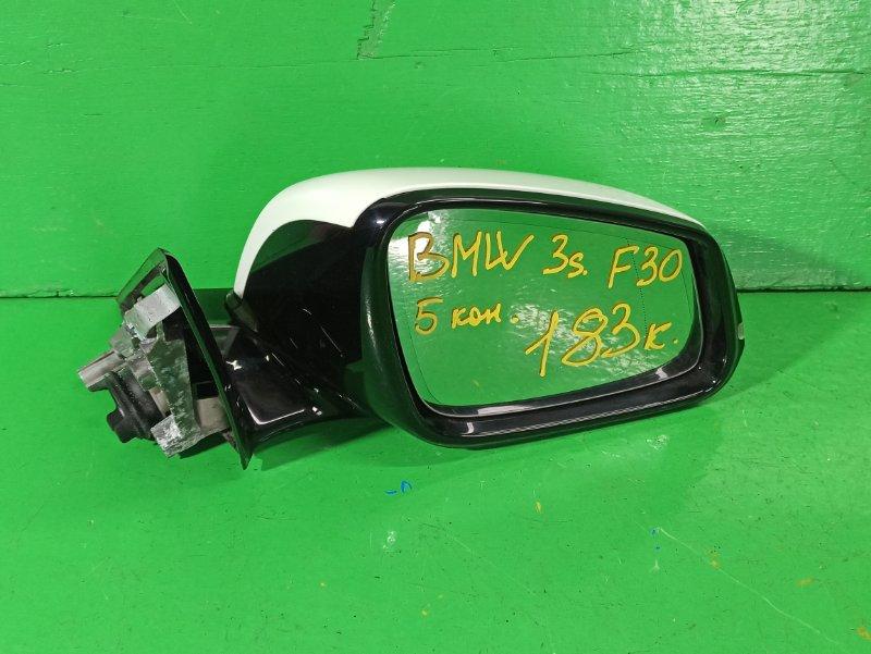 Зеркало Bmw 3-Series F30 N47D20 переднее правое (б/у)