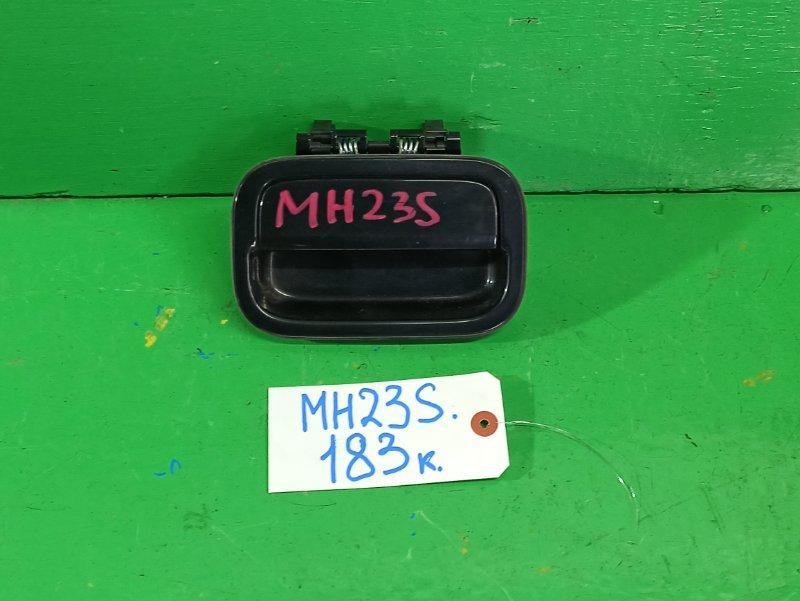 Ручка задней двери Suzuki Wagon R MH23S (б/у)