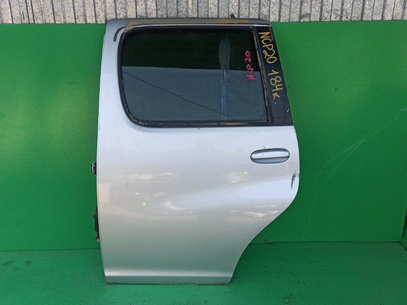 Дверь Toyota Funcargo NCP20 задняя левая (б/у)