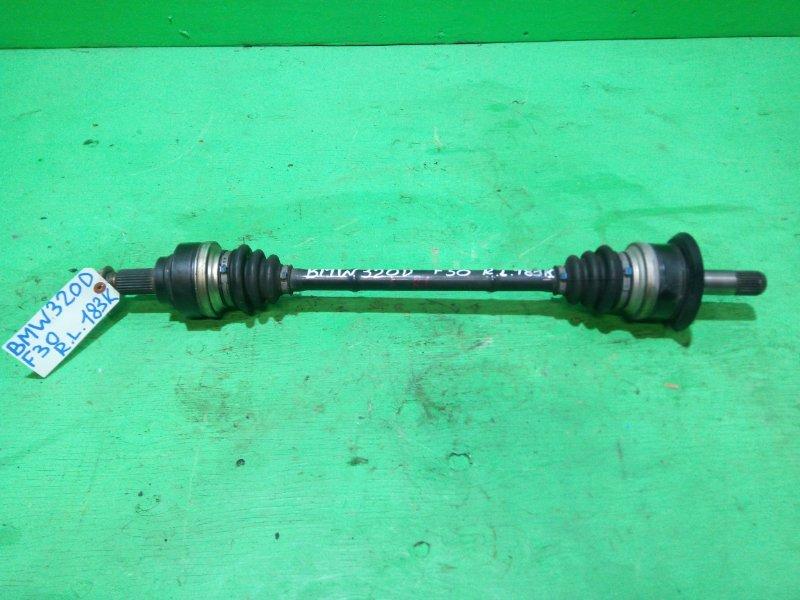 Привод Bmw 3-Series F30 N47D20 задний левый (б/у)