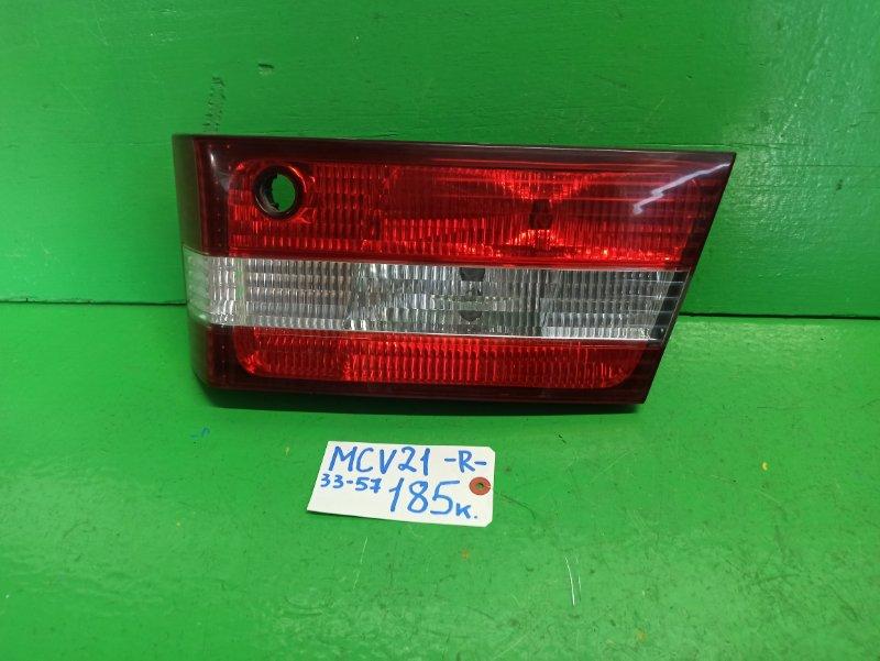 Вставка между стопов Toyota Windom MCV21 задняя правая (б/у)
