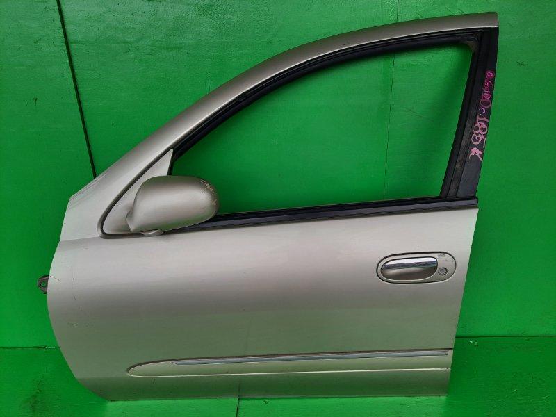 Дверь Nissan Bluebird QG10 передняя левая (б/у)