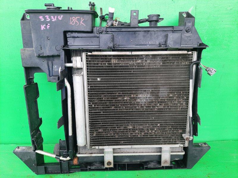 Радиатор основной Daihatsu Hijet S331V KF (б/у)