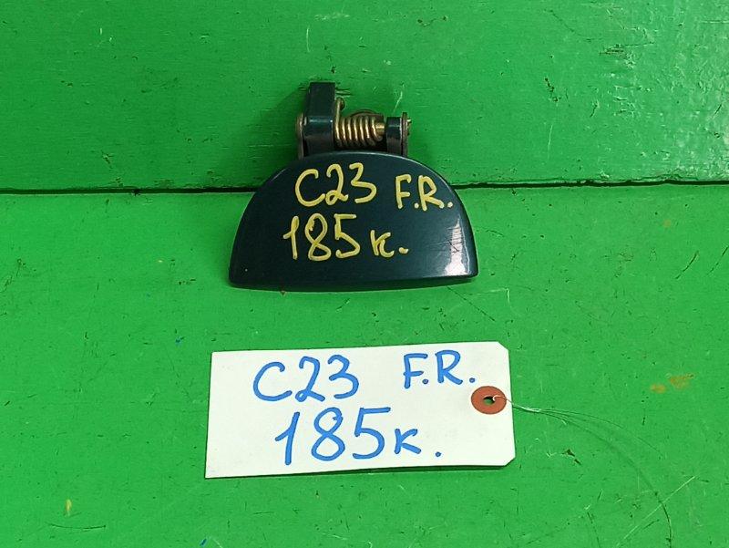 Ручка двери внешняя Nissan Serena C23 передняя правая (б/у)