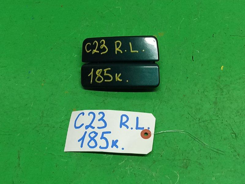 Ручка двери внешняя Nissan Serena C23 задняя левая (б/у)