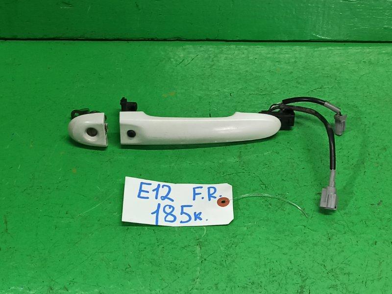 Ручка двери внешняя Nissan Note E12 передняя правая (б/у)