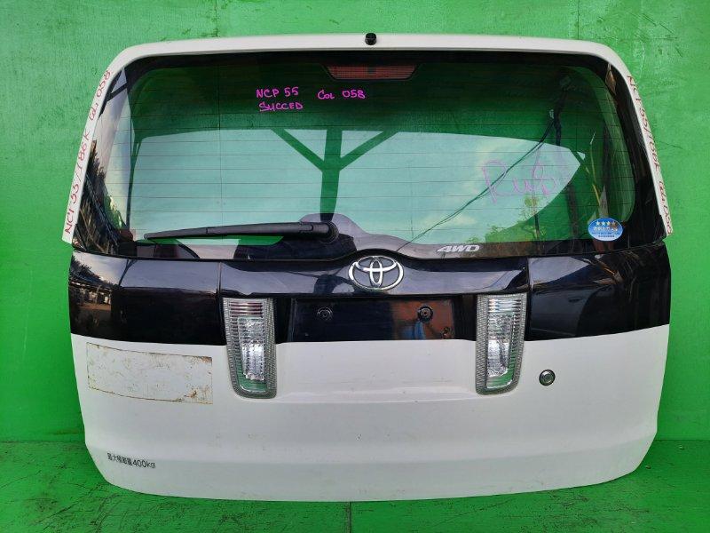Дверь задняя Toyota Succeed NCP55 (б/у)