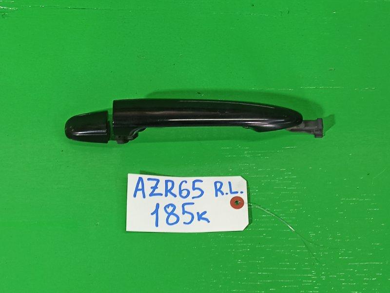 Ручка двери внешняя Toyota Noah AZR65 задняя левая (б/у)