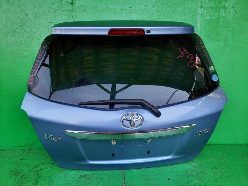 Дверь задняя Toyota Vitz KSP130 (б/у)