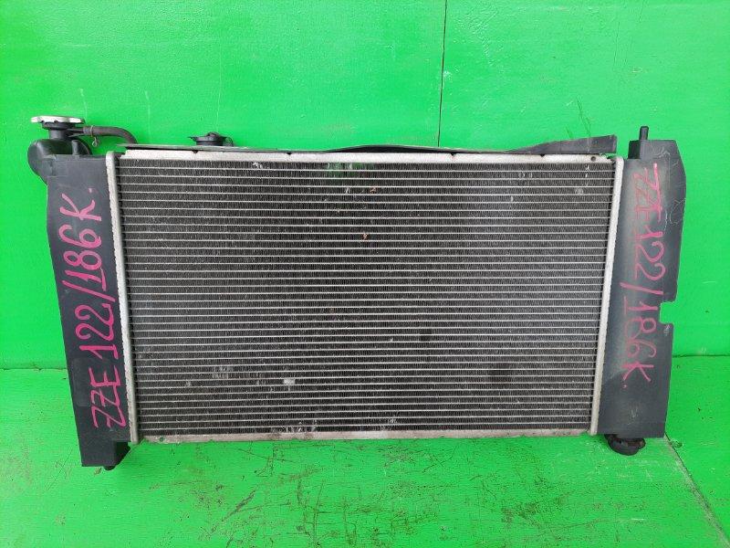 Радиатор основной Toyota Spacio ZZE122 1ZZ-FE (б/у)