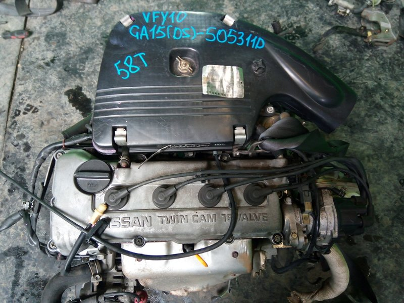 Двигатель Nissan Ad Y10 GA15-DS (б/у)